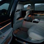 BMW Serie 7 interni luci