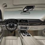 BMW Serie 7 interni plancia