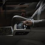 BMW Serie 7 interni tablet
