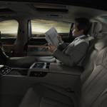 BMW Serie 7 interni