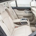 BMW Serie 7 interni posteriore