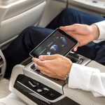 BMW Serie 7 tablet